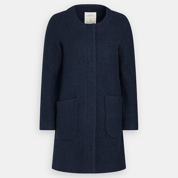 Seasalt Charcoal Burner Coat Fathom