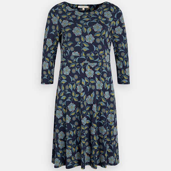 Seasalt Longor Dress Logan Flower Dark Night