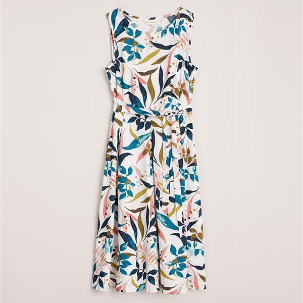 Seasalt Beachside Stroll Dress Abbey Gardens Mix