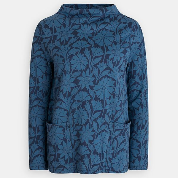 Seasalt Oceangoing Sweatshirt Sketched Motifs Voyage