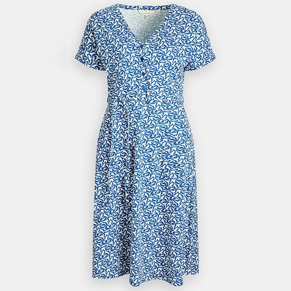 Seasalt Coastwatch Dress Birds Cargo