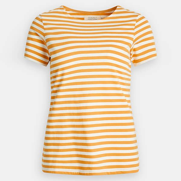 Seasalt Sailor T-Shirt Mini Cornish Sandstone Chalk