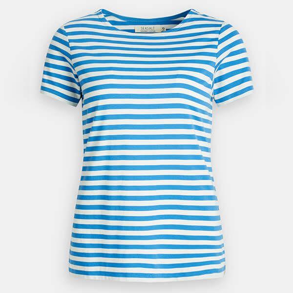 Seasalt Sailor T-Shirt Mini Cornish Ashore Chalk