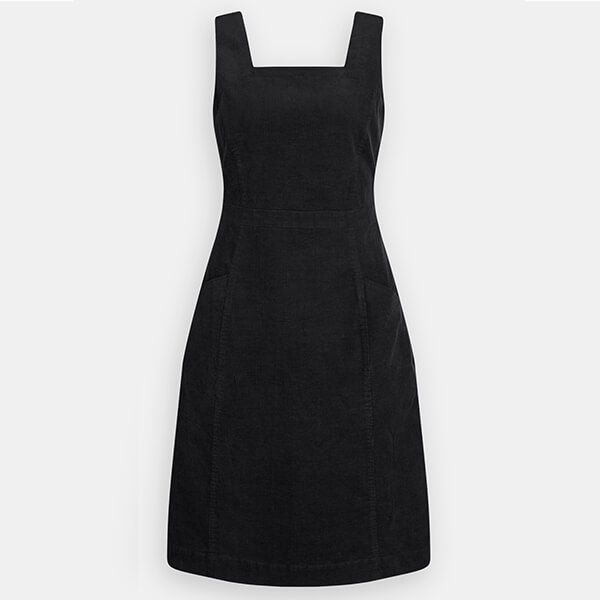 Seasalt Lodge Hill Pinafore Dress Onyx