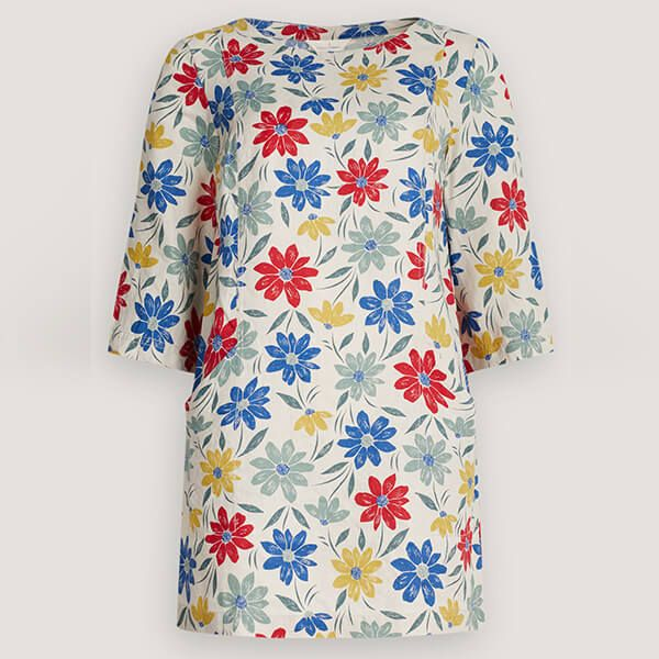 Seasalt Into Land Tunic Painted Cosmos Mix