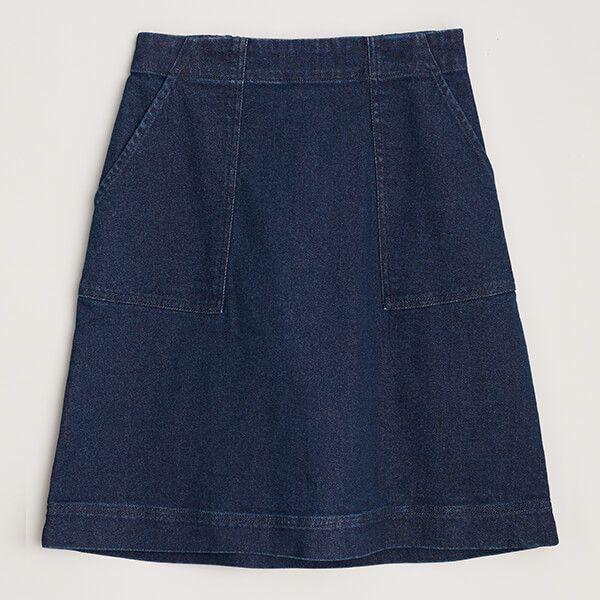 Seasalt May's Rock Skirt Dark Rinse Wash
