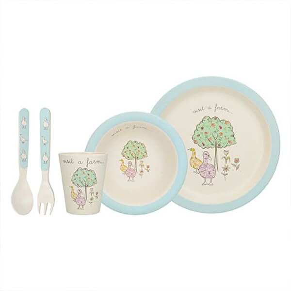 Creative Tops On The Farm 5 Piece Duck Set