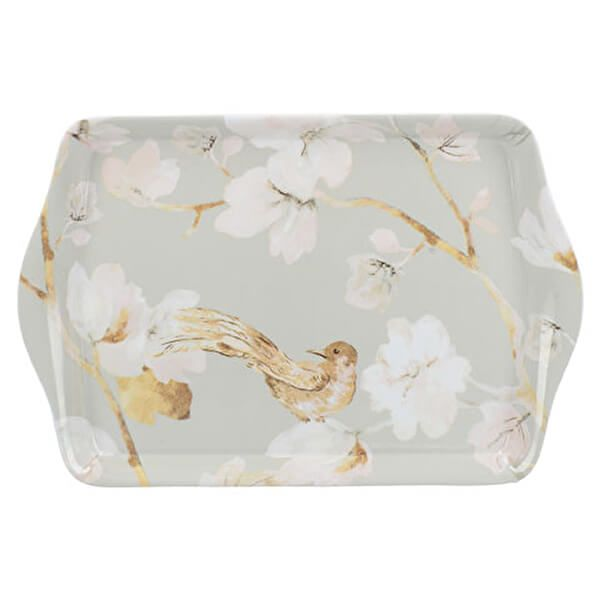 Creative Tops Duck Egg Floral Scatter Tray
