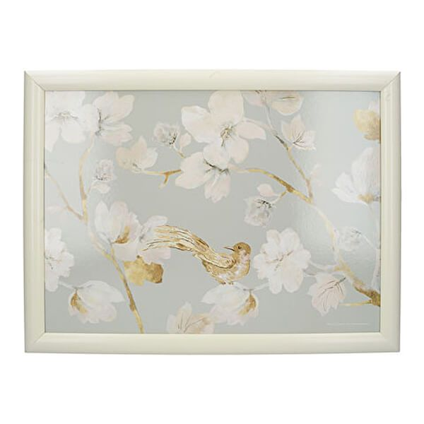 Creative Tops Duck Egg Floral Laptray