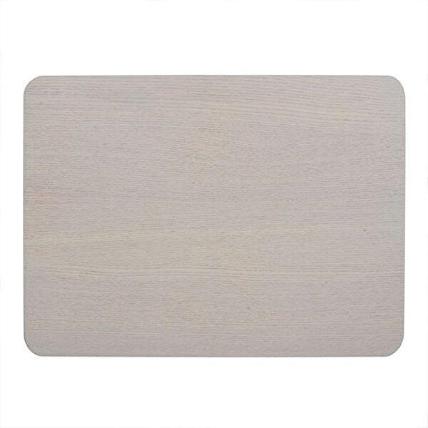 Creative Tops Naturals Wood Veneer Pack Of 4 Placemats Grey