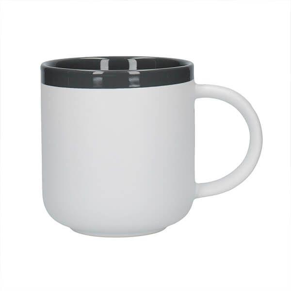 La Cafetiere Barcelona 480ml Latte Mug Cool Grey