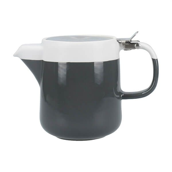 La Cafetiere Barcelona 420ml Teapot Cool Grey
