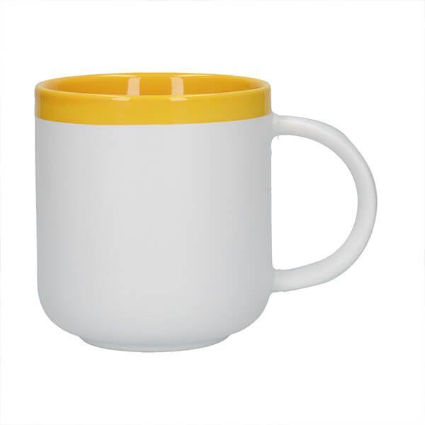 La Cafetiere Barcelona 480ml Latte Mug Mustard