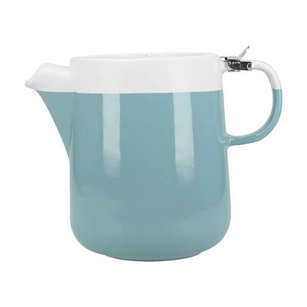 La Cafetiere Barcelona 1200ml Teapot Retro Blue