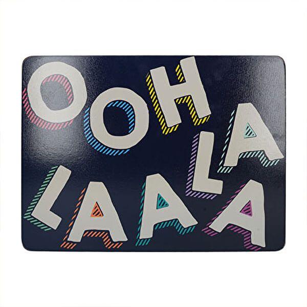 Creative Tops OTT Ooh La La Pack Of 4 Placemats