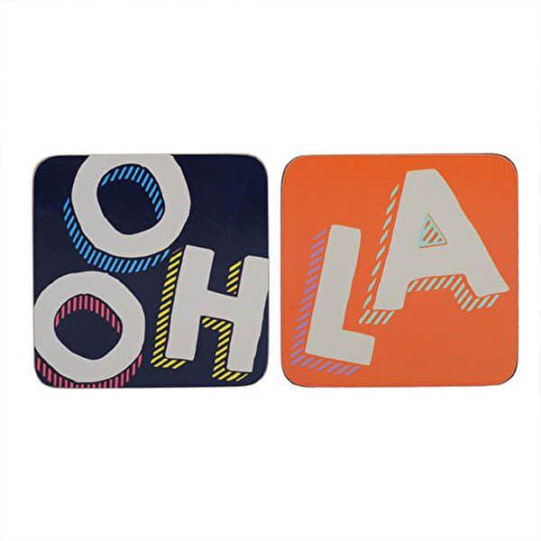 Creative Tops OTT Ooh La La Pack Of 4 Coasters
