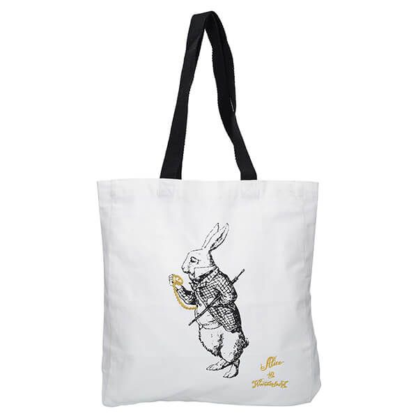 Alice In Wonderland White Rabbit Shopper Bag
