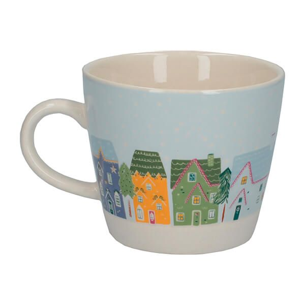 The Nutcracker Collection Christmas Houses Conical Mug