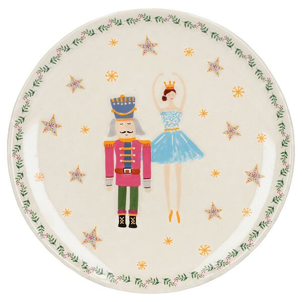 The Nutcracker Collection Ballerina Canape Plate