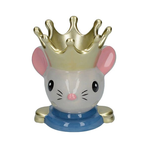 The Nutcracker Collection Mouse King Egg Cup