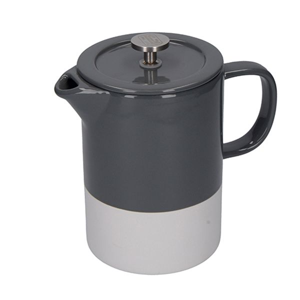 La Cafetiere Barcelona Cool Grey 6 Cup Cafetiere