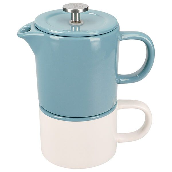 La Cafetiere Barcelona Coffee For One Retro Blue