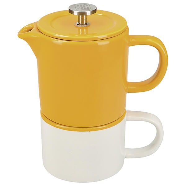 La Cafetiere Barcelona Coffee For One Mustard