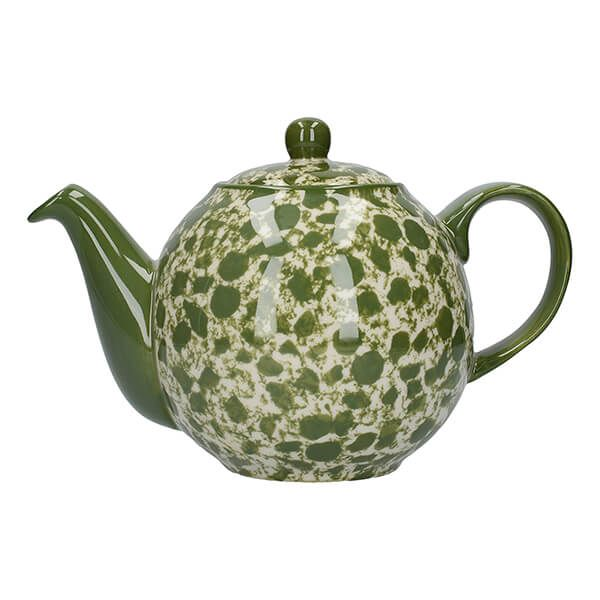 London Pottery Splash Globe 4 Cup Teapot Green