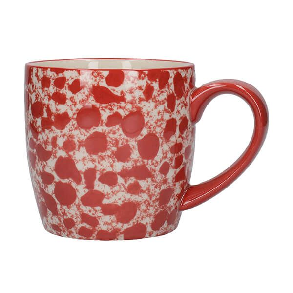 London Pottery Splash Globe Mug Red
