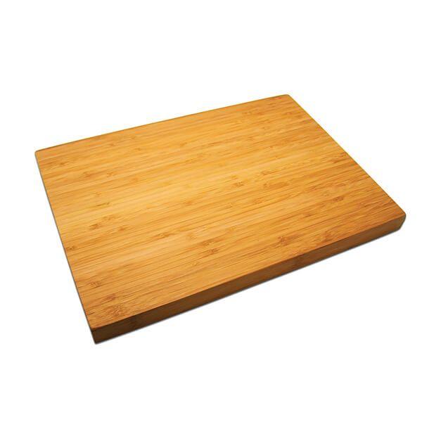 Grunwerg Chunky Bamboo Chopping Board - 40cm x 30cm x 2.5cm