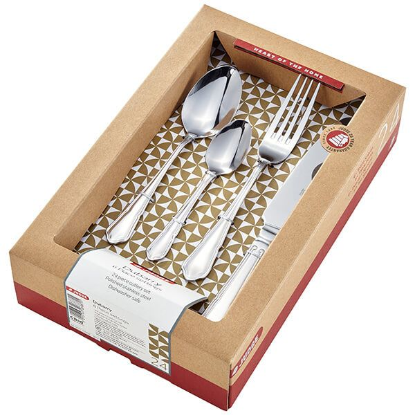 Judge Dubarry 24 Piece Cutlery Set
