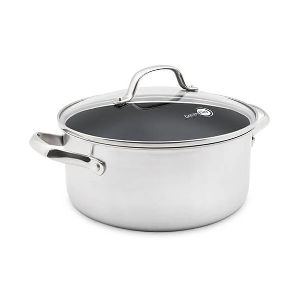 GreenPan Elements Non-Stick 24cm Casserole With Lid
