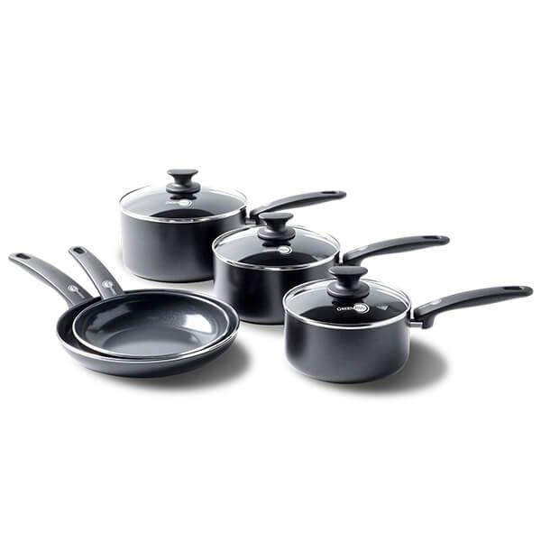 GreenPan Cambridge Ceramic Non-Stick 5 Piece Cookware Set