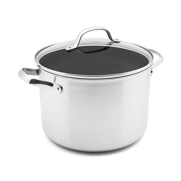 GreenPan Elements Non-Stick 24cm Stockpot With Lid