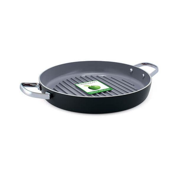 GreenPan Essentials 28cm Round Grill Pan