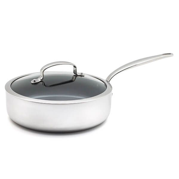 GreenPan Barcelona Evershine 24cm Saute Pan With Lid