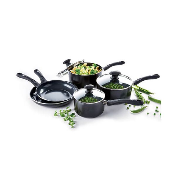 GreenPan Velvet Ceramic Non-Stick 5 Piece Cookware Set