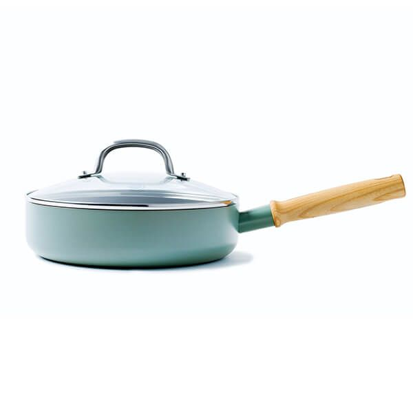 GreenPan Mayflower 24cm Saute Pan With Lid
