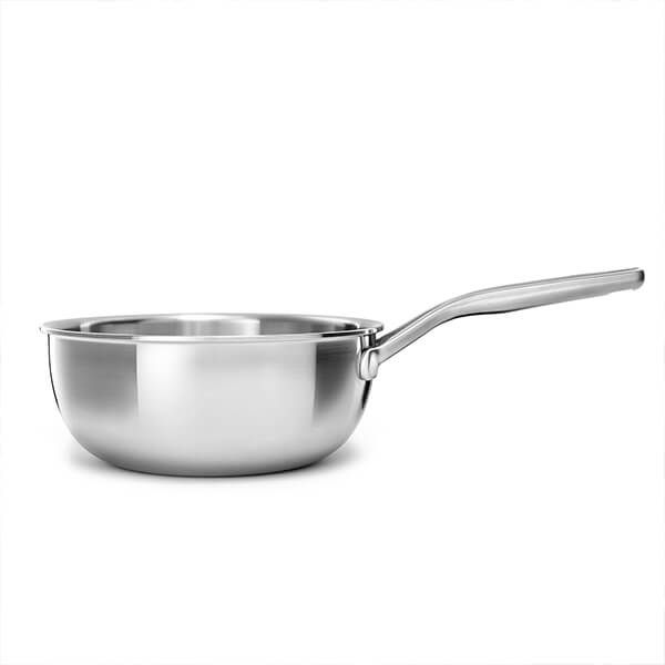 KitchenAid Multi-Ply Stainless Steel 3ply 20cm Chef's Pan
