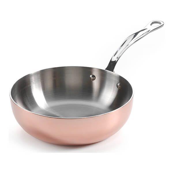 Samuel Groves Copper Clad 26cm Chefs Pan