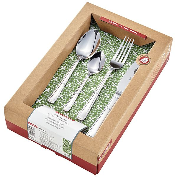 Judge Harley 24 Piece Cutlery Set