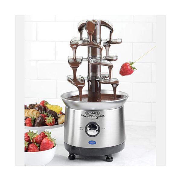 Smart Cascading Fondue Chocolate Fountain