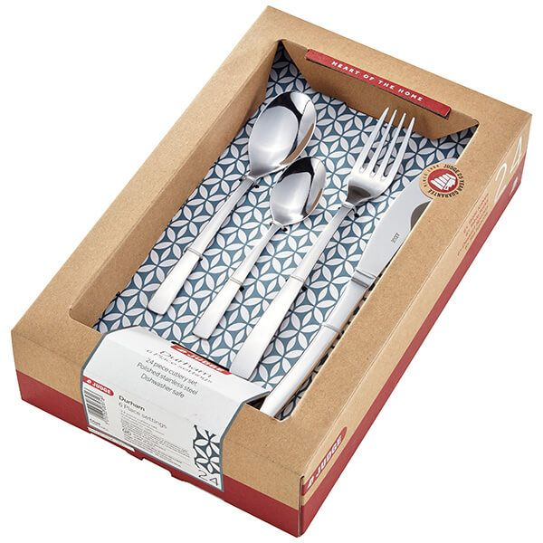Judge Durham 24 Piece Cutlery Set