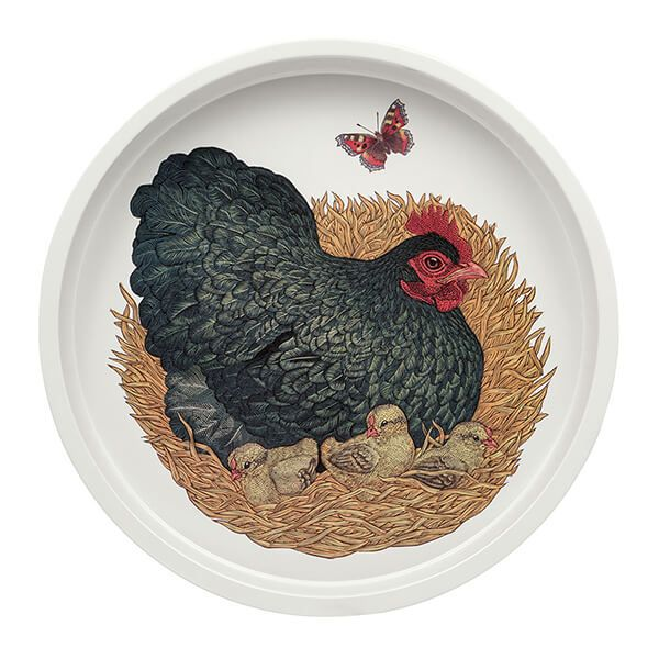 Vanessa Lubach Chickens Deep Well Tray