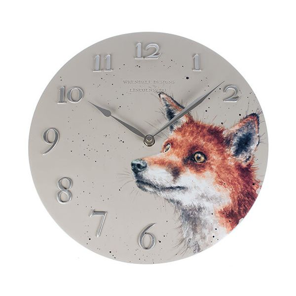 Wrendale Designs Fox Clock