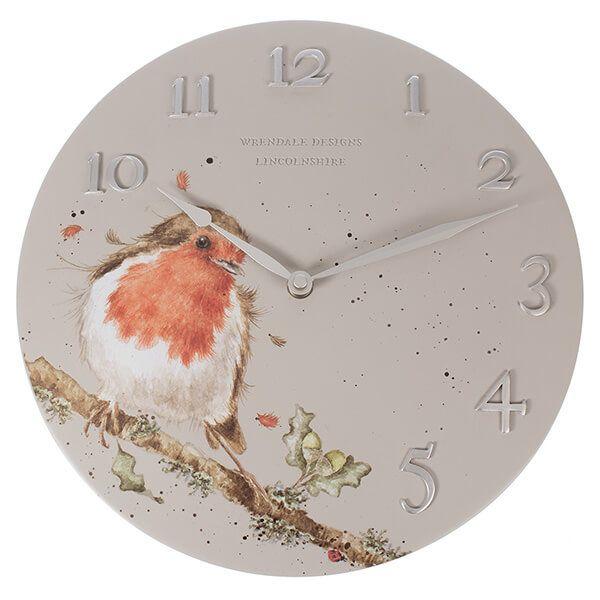 Wrendale Robin Clock