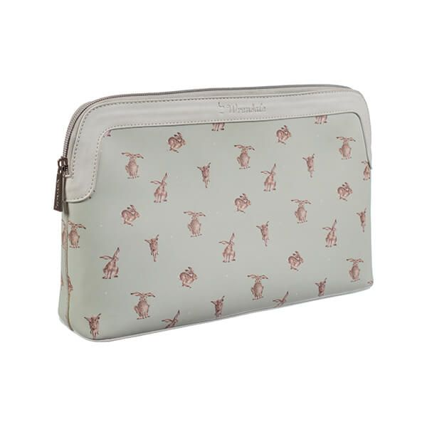 Wrendale Designs Hare Large Cosmetic Bag