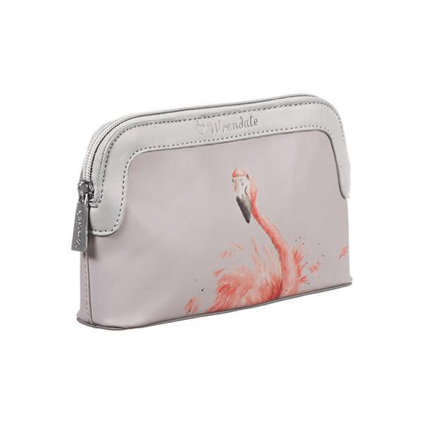 Wrendale Designs Flamingo Small Cosmetic Bag