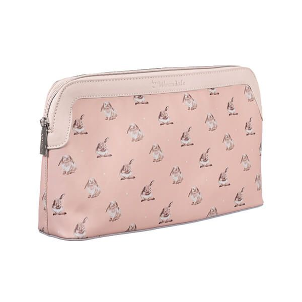 Wrendale Designs Pink Bunny Large Cosmetic Bag