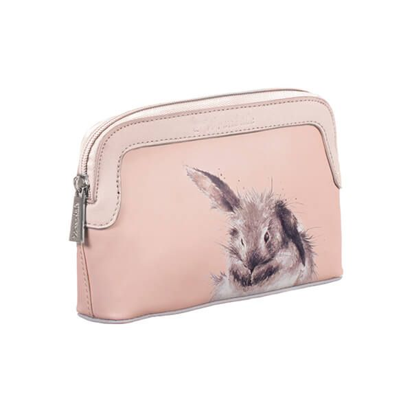 Wrendale Designs Pink Bunny Small Cosmetic Bag